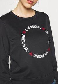 Love Moschino - Sweatshirt - black - 5