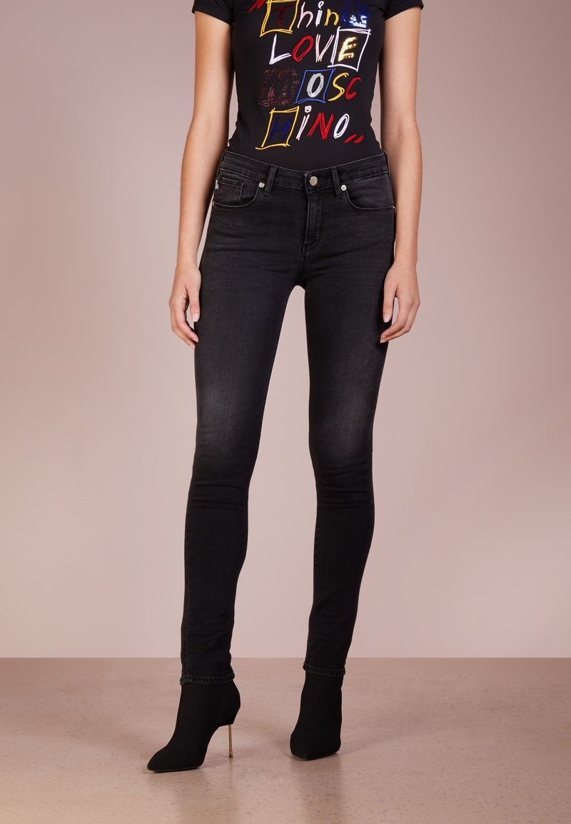 Love Moschino - Jeans Skinny Fit - black denim