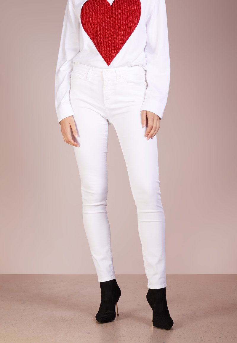 Love Moschino - Jeans Skinny Fit - white