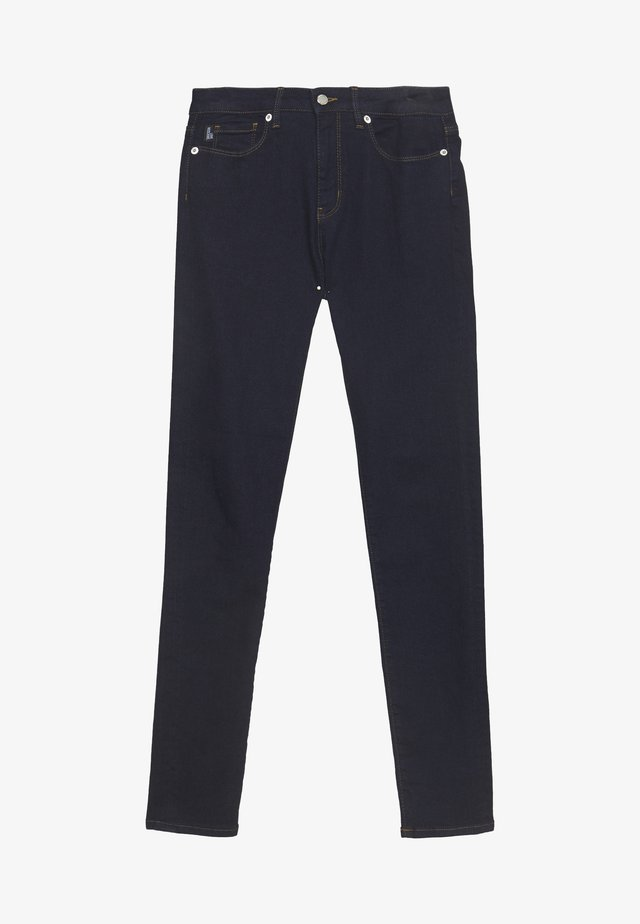 Jeansy Skinny Fit - denim rinse washed