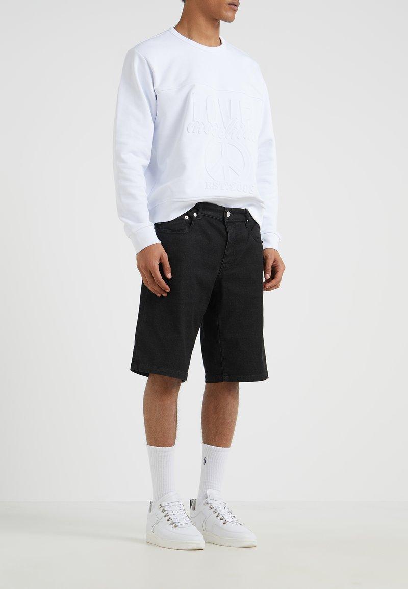 Love Moschino - Denim shorts - black
