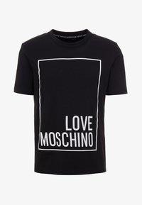 Love Moschino - T-shirt con stampa - black - 4