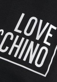 Love Moschino - T-shirt con stampa - black - 5