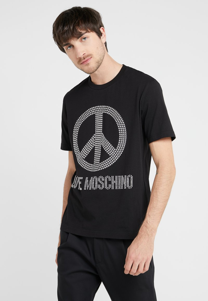 Love Moschino - T-Shirt print - black