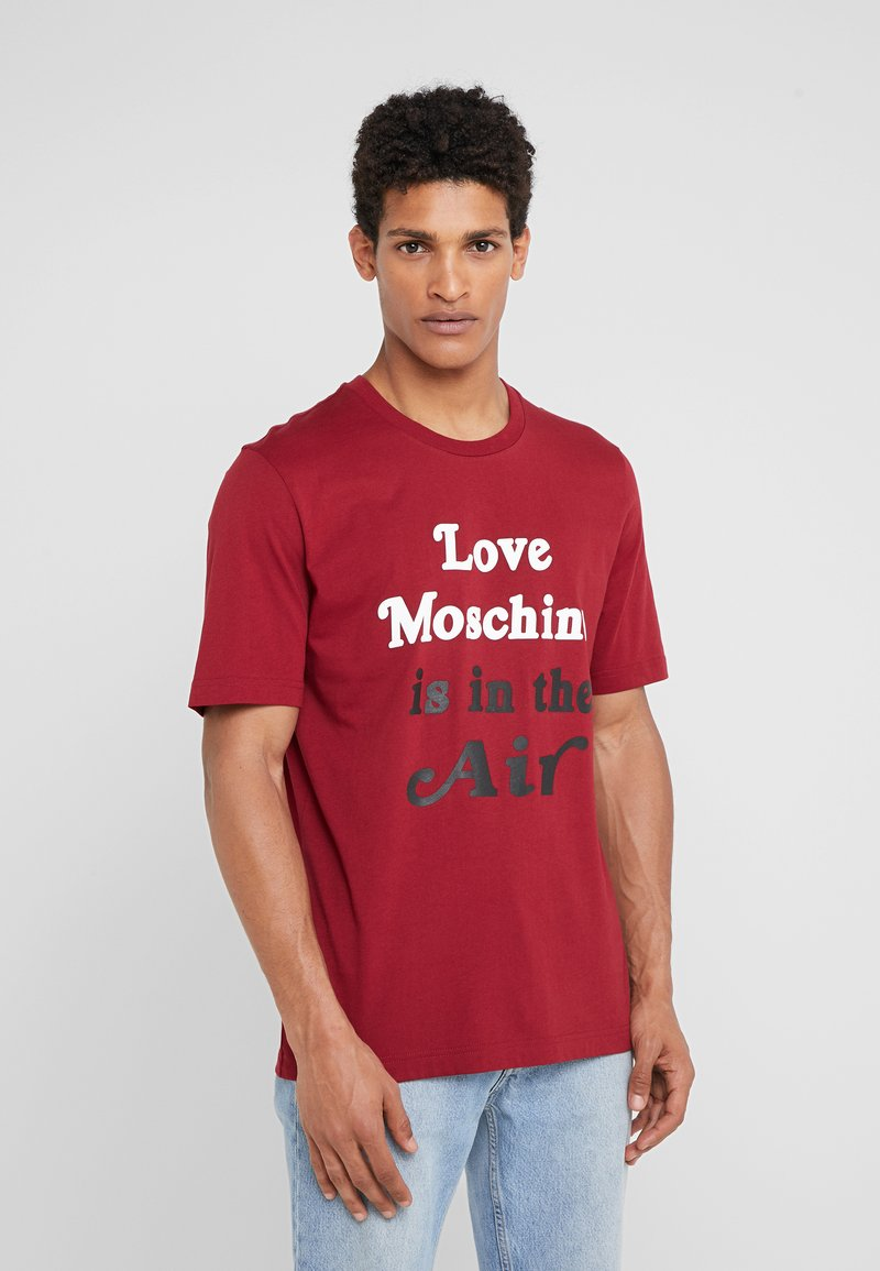 Love Moschino - T-shirt imprimé - red