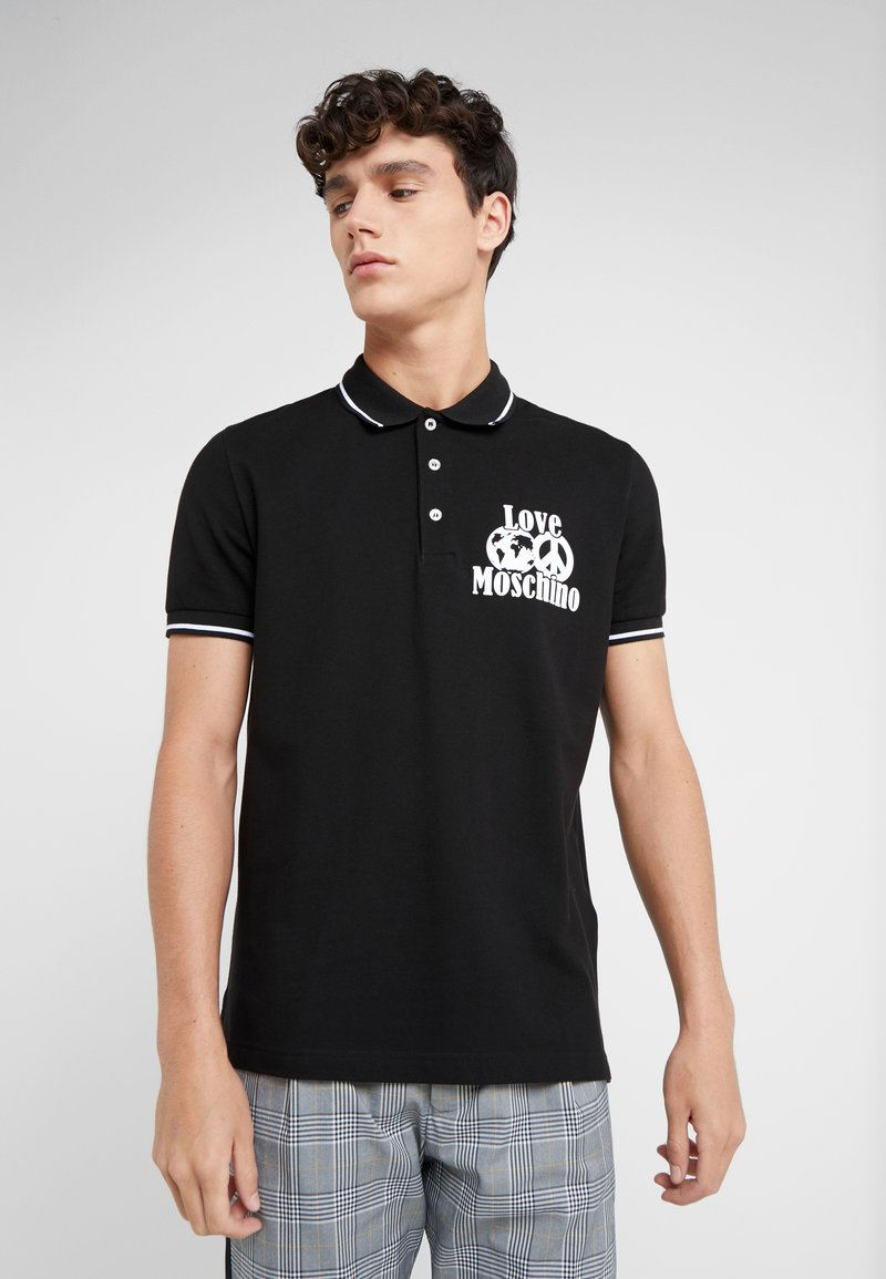 Love Moschino - Polo shirt - black