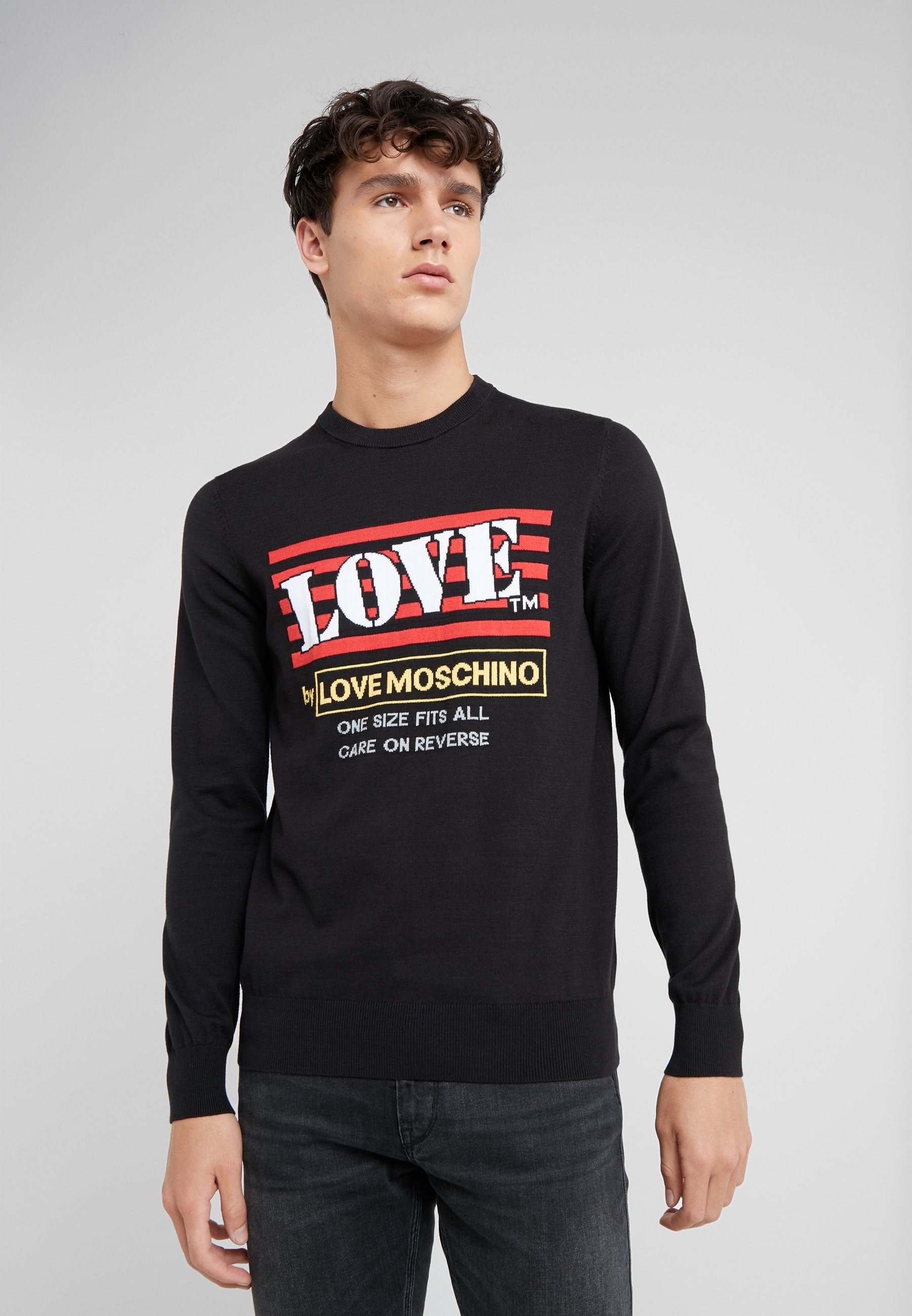 Love Love Moschino Moschino PulloverBlack PulloverBlack Moschino Moschino Love PulloverBlack PulloverBlack Love Love 8wXn0PkO