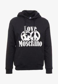 Love Moschino - Bluza z kapturem - black - 3