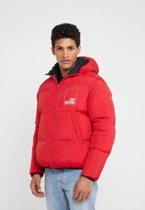 JACKET - Zimní bunda - red