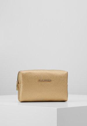 Wash bag - gold-coloured