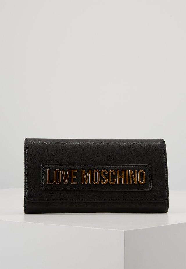 PORTAFOGLI SMOOTH ROSSO - Wallet - black