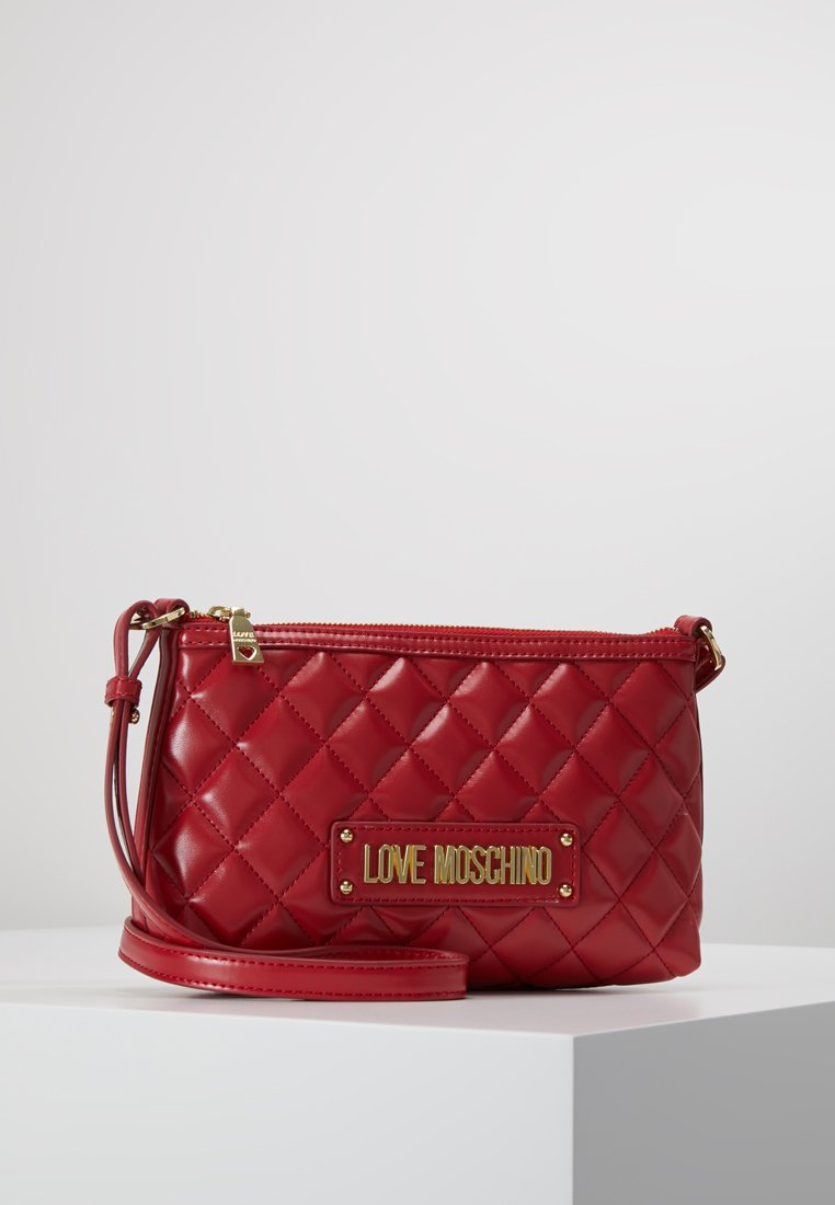 Love Moschino - QUILTED SOFT CROSSBODY - Sac bandoulière - rosso