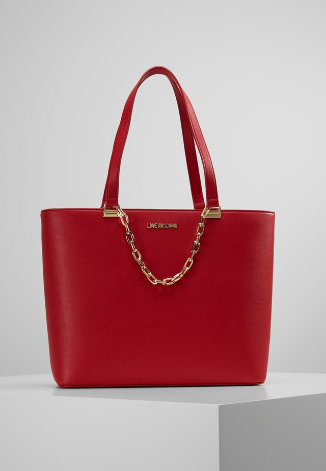 CHAIN SHOPPER - Handtas - red
