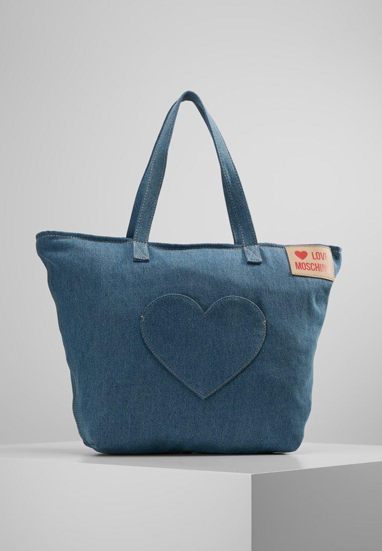 Love Moschino - Handtasche - blue denim