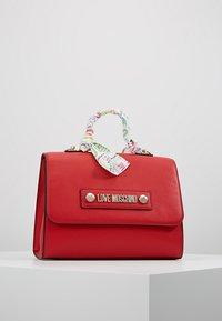 Love Moschino - SCARF HANDBAG - Handbag - red - 5
