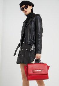 Love Moschino - SCARF HANDBAG - Handbag - red - 1