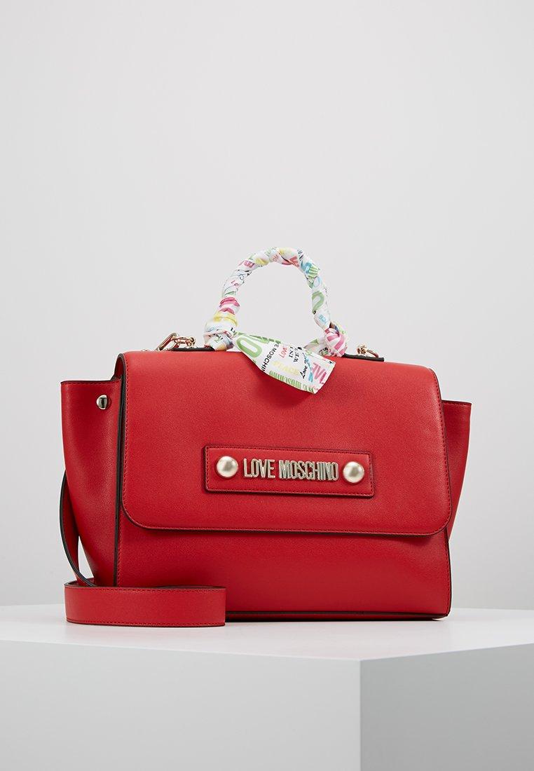 Love Moschino - SCARF HANDBAG - Handbag - red