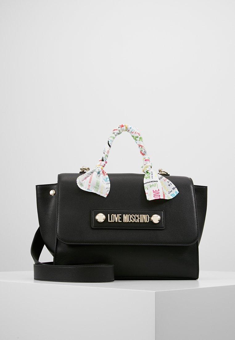 Love Moschino - SCARF HANDBAG - Handbag - black