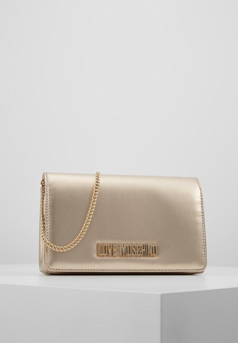 Love Moschino - Across body bag - gold
