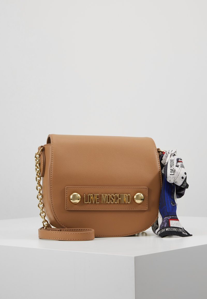Love Moschino - Across body bag - cammello