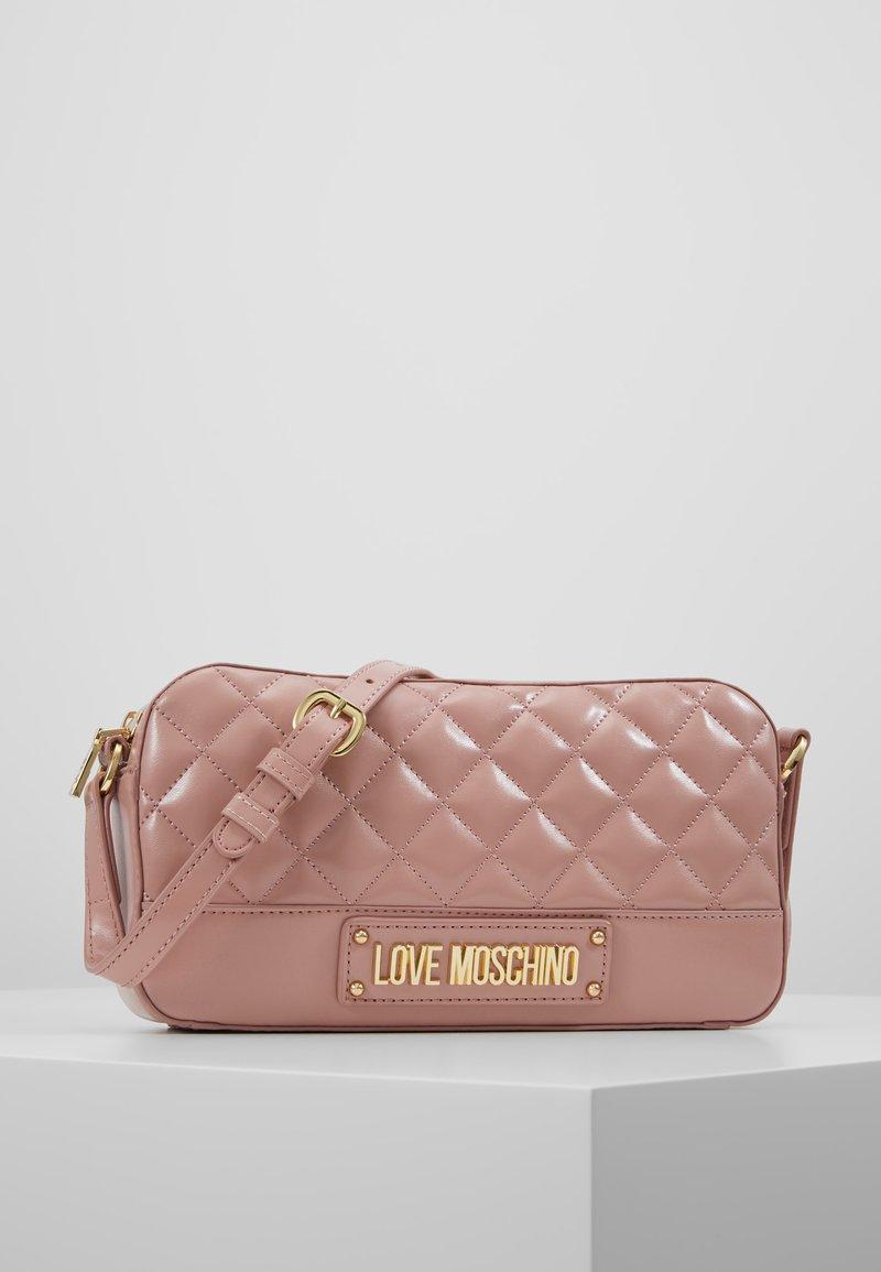 Love Moschino - Across body bag - cipria/poudre