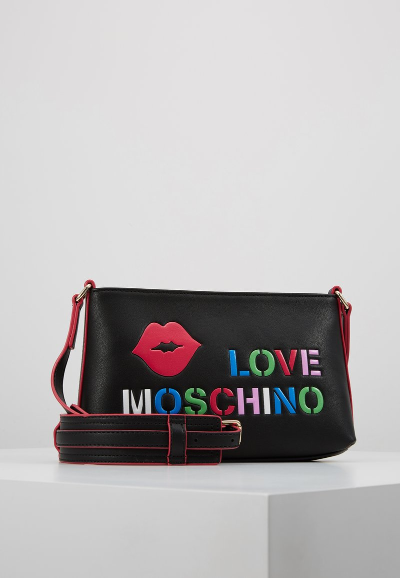 Love Moschino - CROSS BODY - Across body bag - black