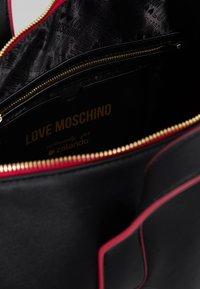 Love Moschino - Torba weekendowa - black - 4