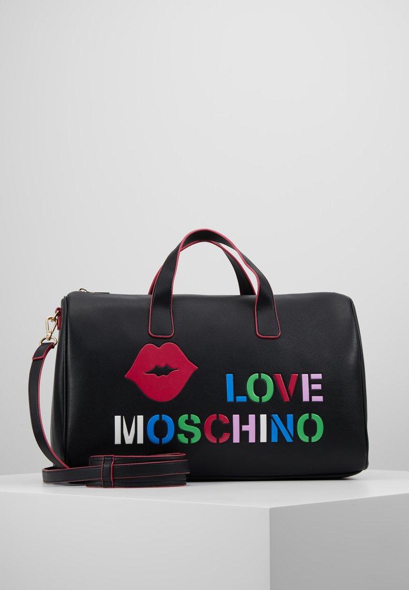 Love Moschino - Torba weekendowa - black