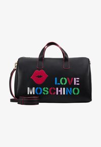Love Moschino - Torba weekendowa - black - 5