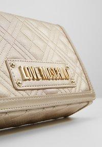 Love Moschino - Across body bag - silver - 6