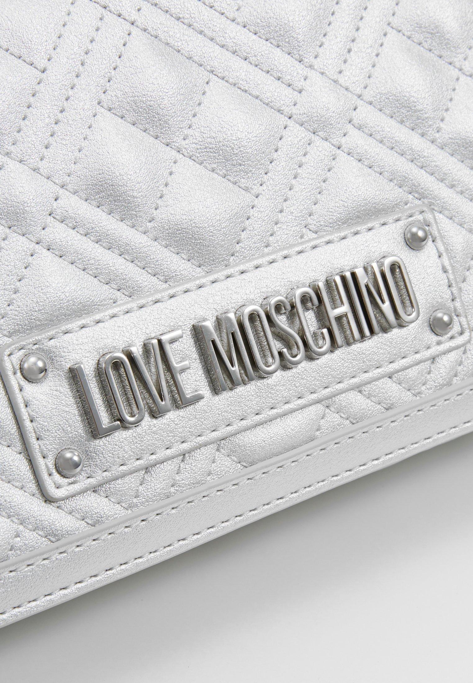 Love Moschino Schoudertas - Silver jOZflC2