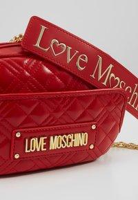Love Moschino - Schoudertas - red - 6