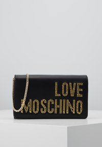 Love Moschino - Across body bag - black/gold - 0