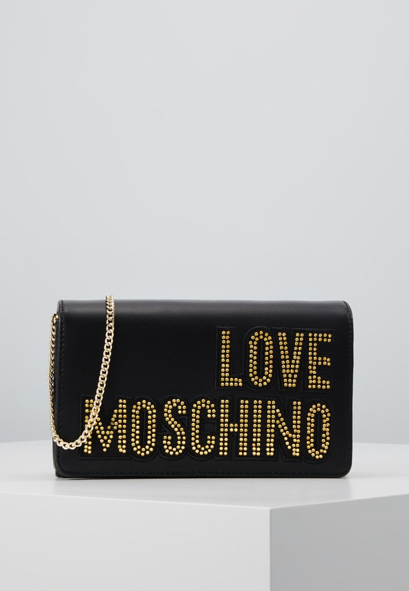 Love Moschino - Across body bag - black/gold