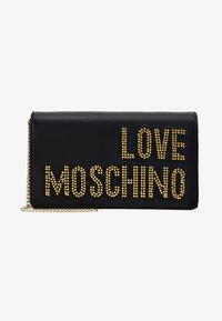 Love Moschino - Across body bag - black/gold - 5