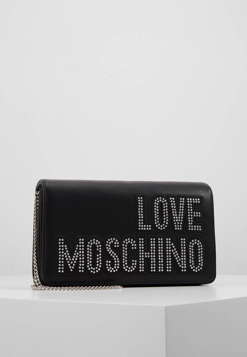 Love Moschino - Olkalaukku - black/silver