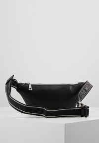 Love Moschino - PLAIN BUMBAG - Heuptas - black - 3
