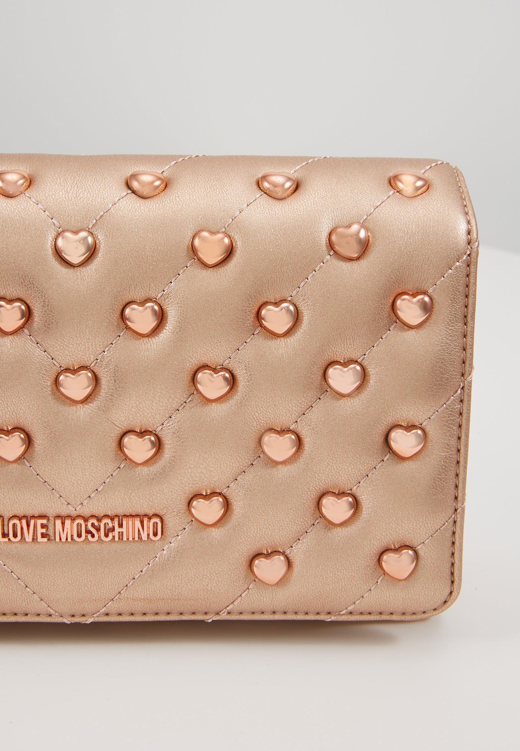 Love Moschino Sac Bandoulière - Rose Gold