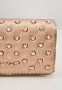 Love Moschino - Borsa a tracolla - rose gold - 2