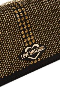 Love Moschino - Olkalaukku - black/gold - 2