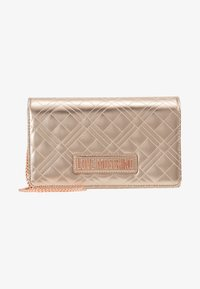 Love Moschino - Across body bag - rose gold - 1