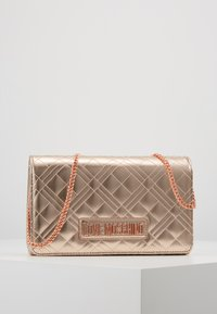 Love Moschino - Across body bag - rose gold - 0