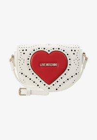 Love Moschino - Taška spříčným popruhem - white - 1