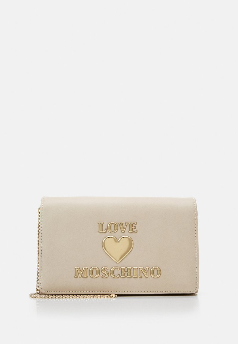 Love Moschino - BORSA - Taška spříčným popruhem - ivory