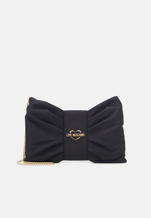 BORSA CHAMPAGNE - Across body bag - black