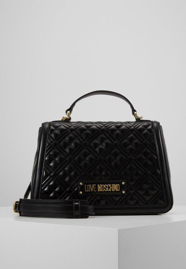 BORSA QUILTED - Handbag - black