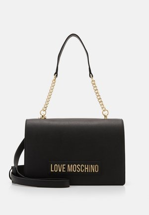 BORSA SMOOTH SCURO - Handtasche - black