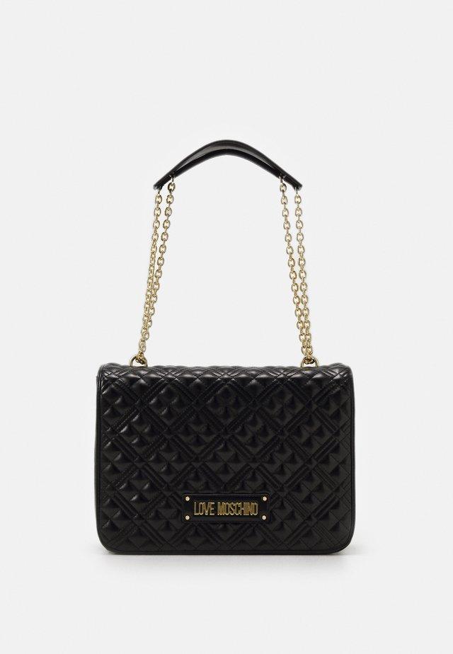 BORSA QUILTED - Handtasche - black