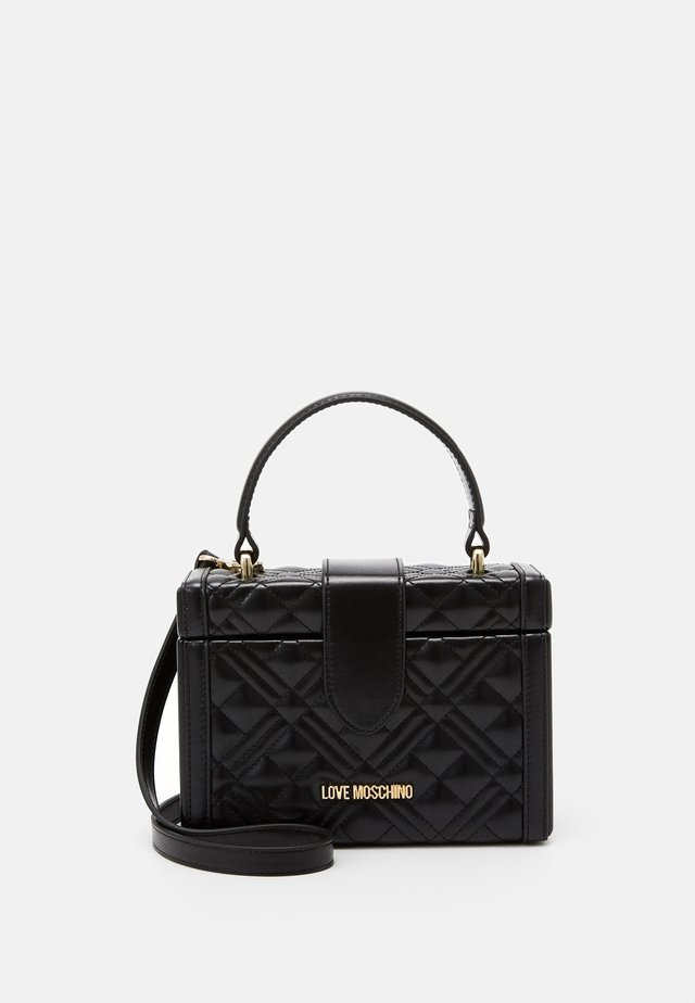 BORSA QUILTED  - Across body bag - black
