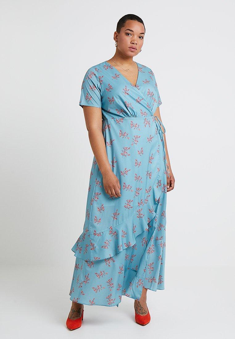 Lost Ink Plus - Maxi dress - blue